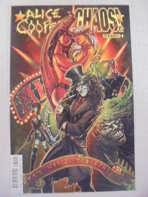 Alice Cooper vs Chaos #1 Sketch Variant Cover Dynamite Comics CB7805