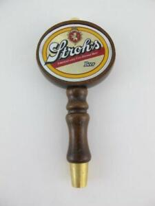 Vintage Stroh/'s Premium Quality American Beer Wooden Tap Handle New