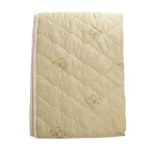 Unterbett Schafwolle 160x200 cm Matratzenauflage Bett-Auflage Spannauflage