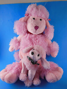 6f203bee903 Golden Bear Co Very NICE Pink Poodle AND Mint With Tag Ty beanie ...