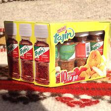 10-Pack .35 oz Mini Tajin Clasico Chili Fruit Seasoning w/ Lime Lunchbox Camping