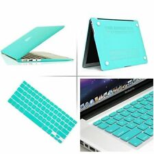 """Hard Case Shell +Rubberized Keyboard Cover for Macbook Pro 13/15"""" Air 11/13""""inch"""