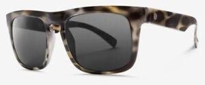 NEW Electric Swingarm XL Stone Tort Ohm Grey Mens Square Sunglasses Msrp$100