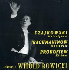 2CD WITOLD ROWICKI dyryguje..... CZAJKOWSKI, PROKOFIEW / RICHTER piano