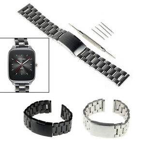 1636d17b369 Image is loading 22mm-Stainless-Steel-Watch-Band-For-Martian-Notifier-