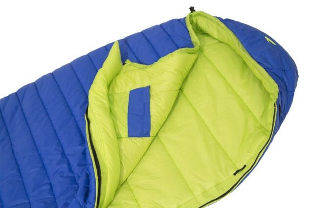 Carinthia G 180 Light Sleeping Bag Large Left Loft Blue Green Synthetic Fibre