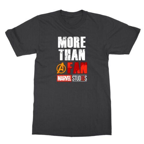 Marvel Studios MORE THAN A FAN Men/'s T-Shirt
