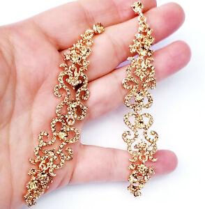 Chandelier-Earrings-Rhinestone-Topaz-Crystal-4-inch