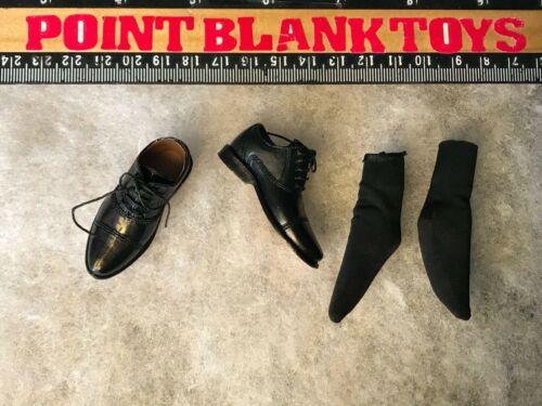 DID Black Dress Shoes /& Socks FRINGE WALTER BISHOP 1//6 ACTION FIGURE TOYS dam
