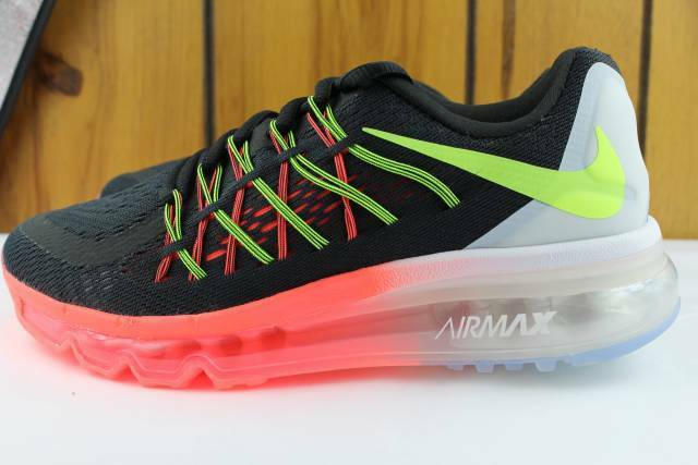 NIKE AIR MAX 2018 CRIMSON Noir YOUTH SIZE 5.5 SAME AS WOMAN 7.0 NEW RARE RUN