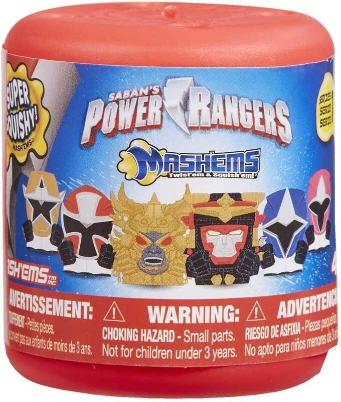 Power Rangers Mash'ems Mashems Series 3 Blind Capsules Figures 1 3 5 Or 10