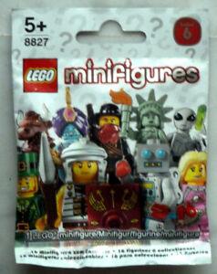 lego CHOOSE your MINIFIGURES série n° 06 réf. 8827 NEUF et FERMÉ jhavL1nt-08132240-735272023