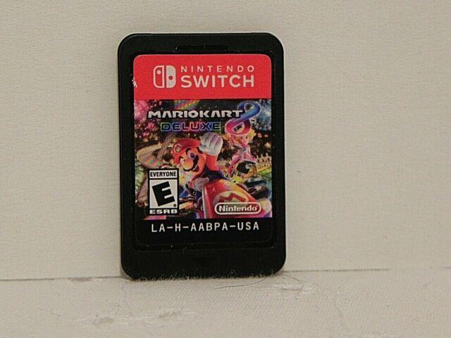 Mario Kart 8 Deluxe Nintendo Switch & Joy Con Comfort Grip Holder HAC-011 EUC
