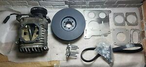 Bmw-Eaton-M62-Supercharger-Kit-Brackets-Crank-Pulley-for-M50-M52-M54-E30-E34-E36