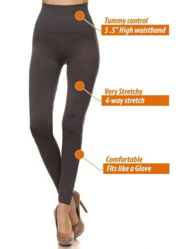 Women/'s Tummy Control High Waist Waistband Full Length Leggings Yoga Club Pants