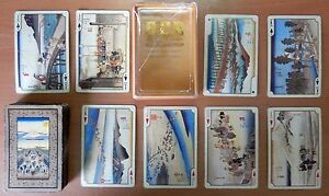 VINTAGE-TOKAI-DO-53-039-s-by-HIROSHIGE-53-1-JOKER-ACE-PLAYING-CARDS-p05