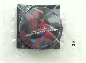 NEW-Sealed-RARE-SDCC-2012-The-Amazing-Spider-Man-Collectible-Button-From-Roxx