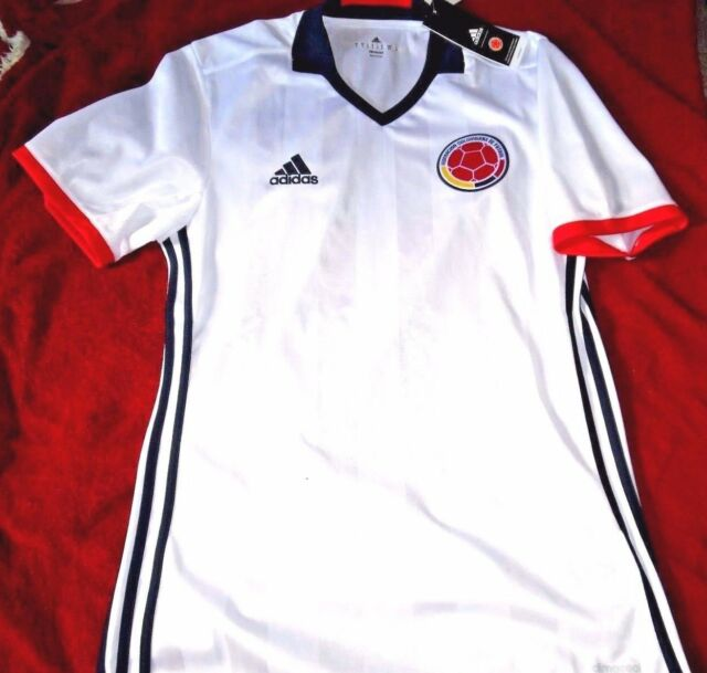 aea0e007b Ac2837 adidas Colombia FCF Home White Soccer Jersey Men s Size S for ...