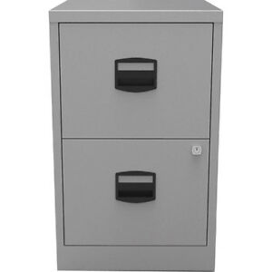 4644c7dc922 Bisley Metal Filing Cabinet 2 Drawer A4 H670xw410xd400mm for sale ...