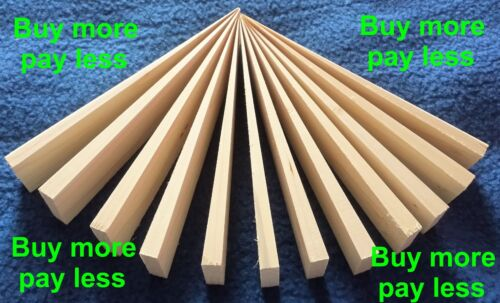 set of 12 WOODEN WEDGES levelling doors stops perfect for wedging fence panels