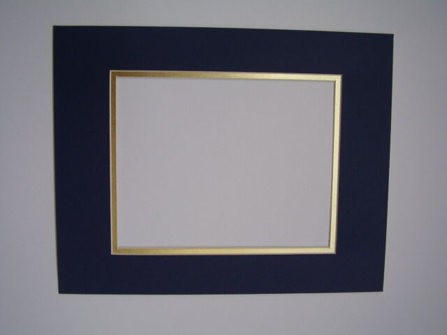 Picture Framing Mats 11x14 For 85 X11 Photo Or Diploma Dark Blue