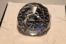 Swarovski Crystal Round Ball 40mm Paperweight 9406 NR 40 Bermuda Cottage MINT