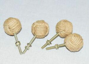 4-pcs-Nautical-Cabinet-Knot-Rope-Knob-Jute-Door-Knobs-Beach-Seaside-Home-Gift