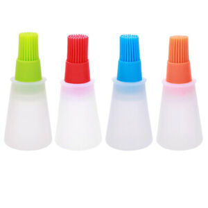 Silicone BBQ Sauce Oil Brush Cake Butter Pastry Cook Baking Barbeque Tool Sanwo