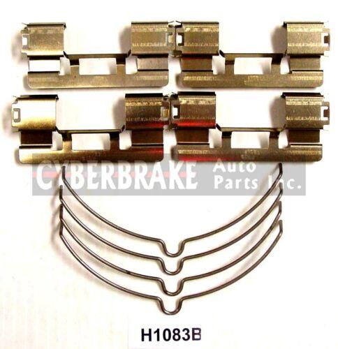 SMD1392H Front Semi-Metallic Brake Pads+Hardware