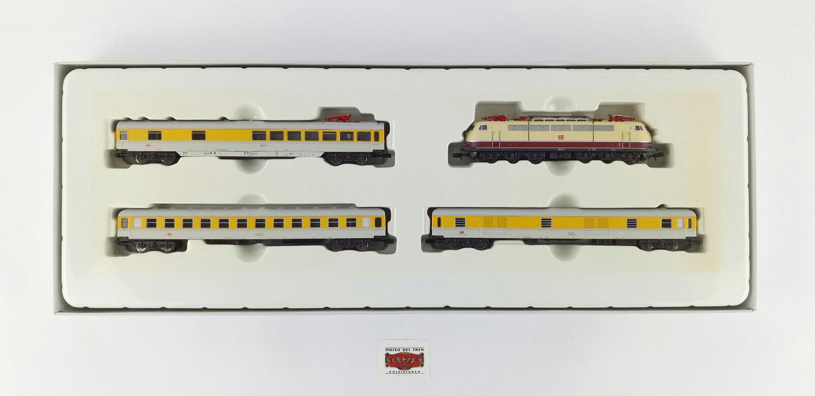 Minitrix N 11607 - Set da Treno Speciale di Misure con E-Lok Br - Nuovo - Orig