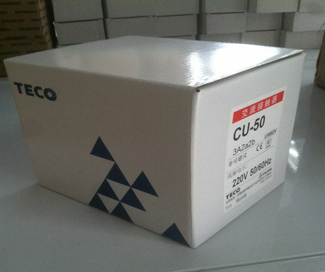 CU-50 CU 50 220vac 1pcs NEW teco contactor New in box free shipping