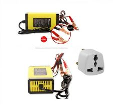 Coches y motos mini portátil 12v 6A Cargador De Batería Completamente Automático