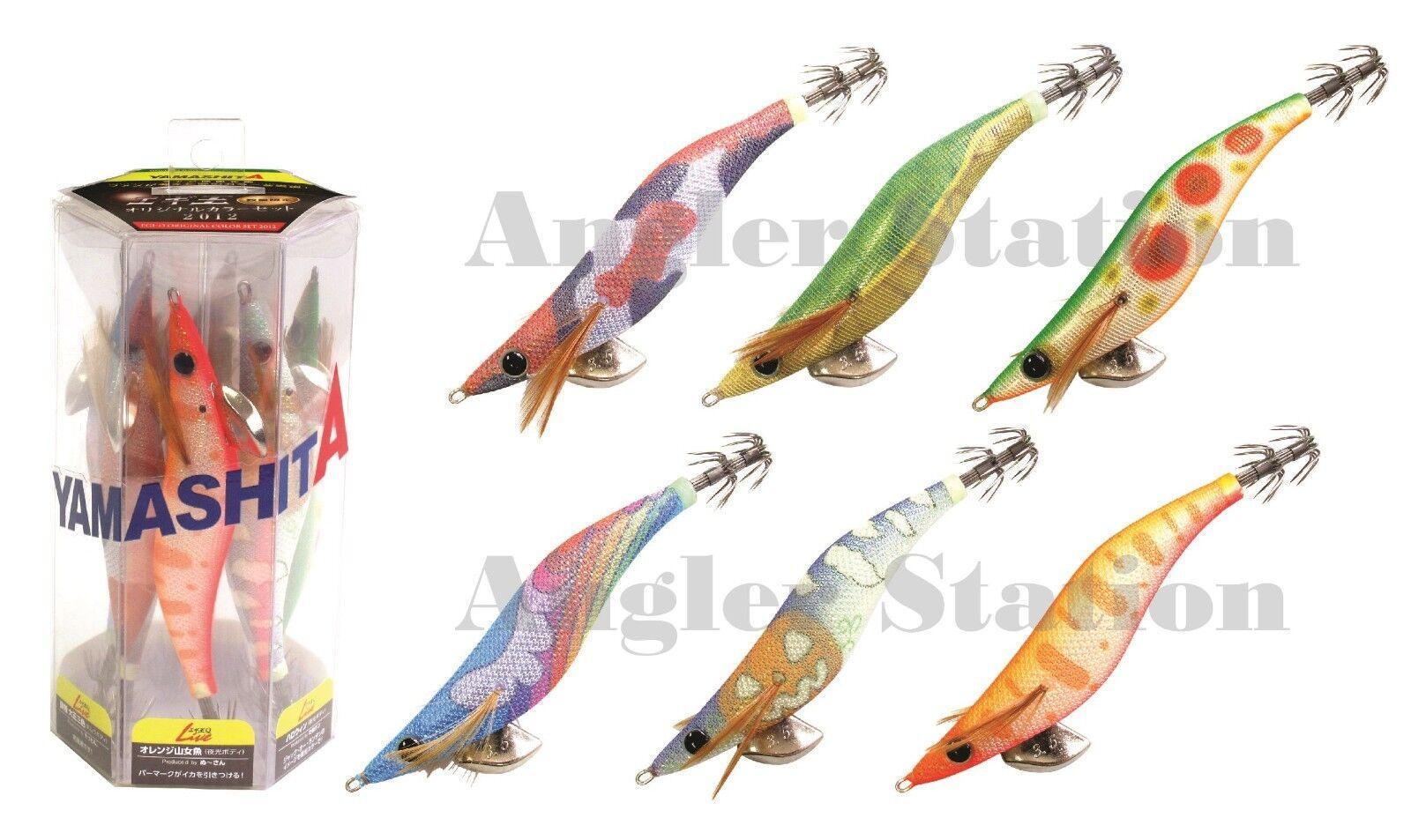 6 x Yamashita EGI OH Q LIVE Squid Jig colors 2012 LIMITED EDITION