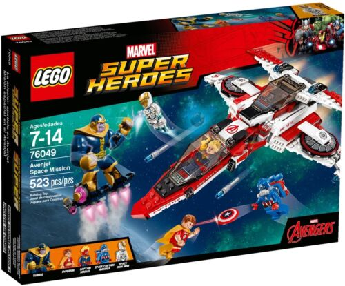 Avenjet Space Mission NEW /& SEALED * LEGO Marvel Super Heroes 76049