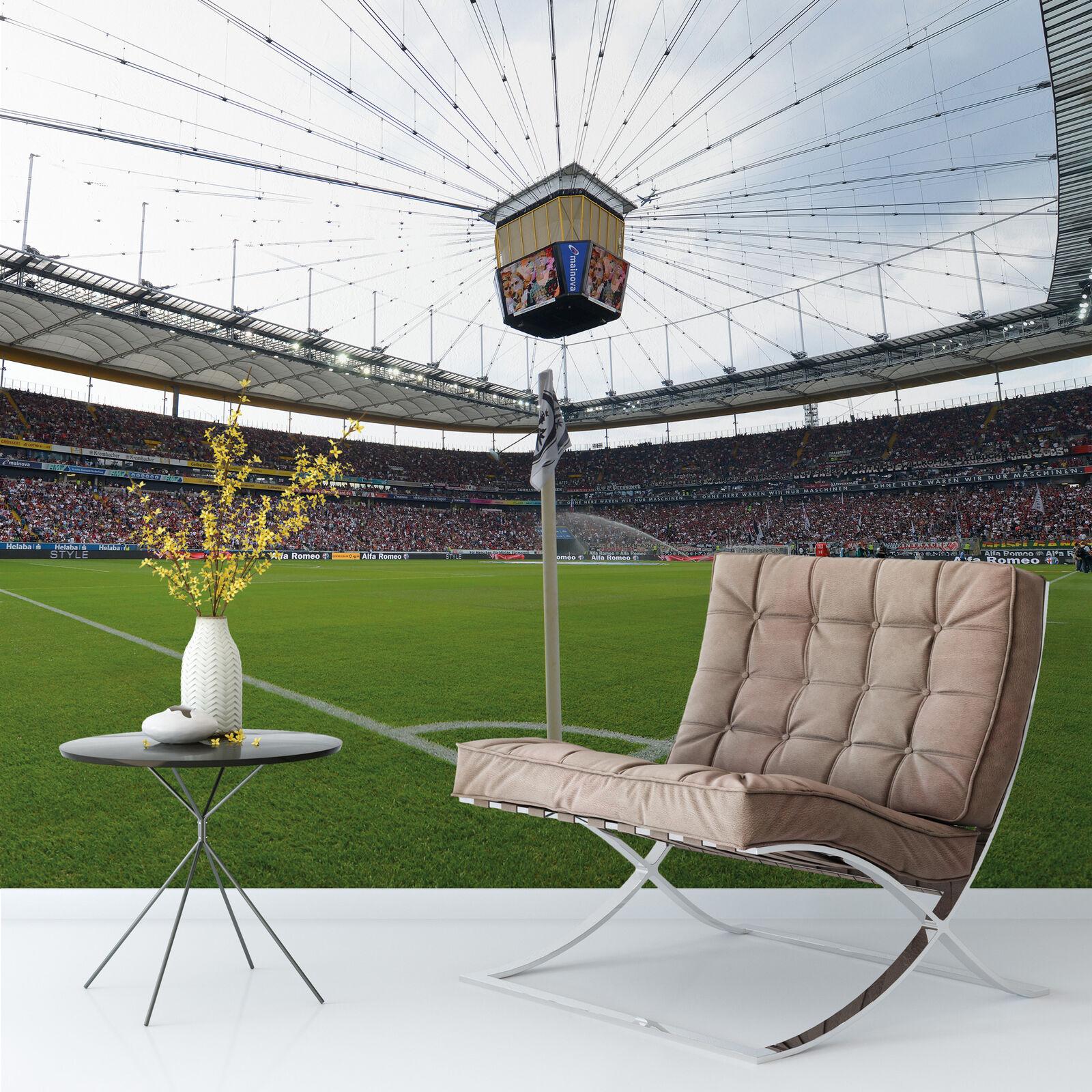 Fototapete Eintracht Frankfurt Arena - 384x260 cm Vlies Wanddeko