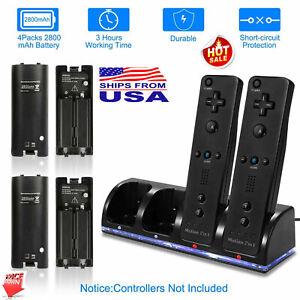 Cargador-Bateria-Recargable-amp-Clasico-Juego-Controlador-para-Nintendo-Wii-Remoto