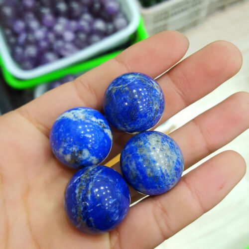 Wholesale Lots Mix 100/% Natural Gemstone Sphere Crystal Ball Healing 30MM Stand