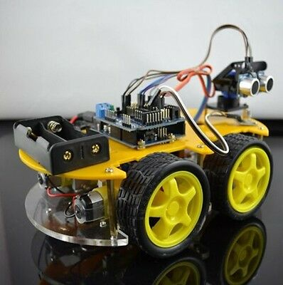 Bluetooth Multi-Function Intelligent Smart Car Kit UNO R3 DIY for Arduino Robot