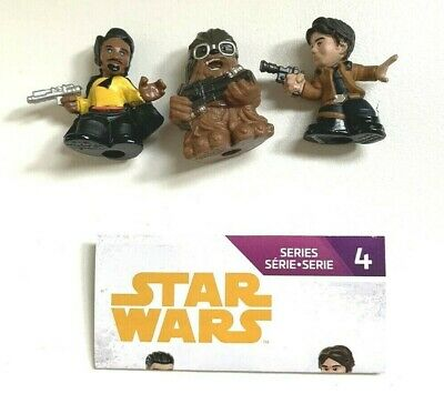 Star Wars Micro Force Series 4 Lando Calrissian Free Postage