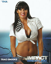 Official TNA Impact Wrestling - Traci Brooks - 8x10 - P81B