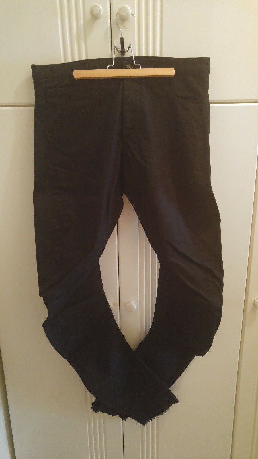 Zam Barrett schwarz DNA overdyed jeans 50
