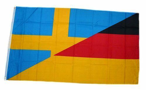 Bandiera//bandiera Germania//Svezia hissflagge 90 x 150 cm