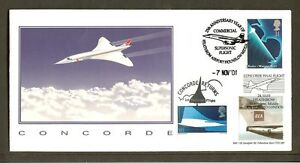CONCORDE - 2001/03 Double Cancelled 25th Anniversary & Final Flight Cover