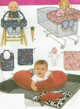 Cover nursing pillow Cart PATTERN Simplicity 4225 quilt bib bag high chair cover