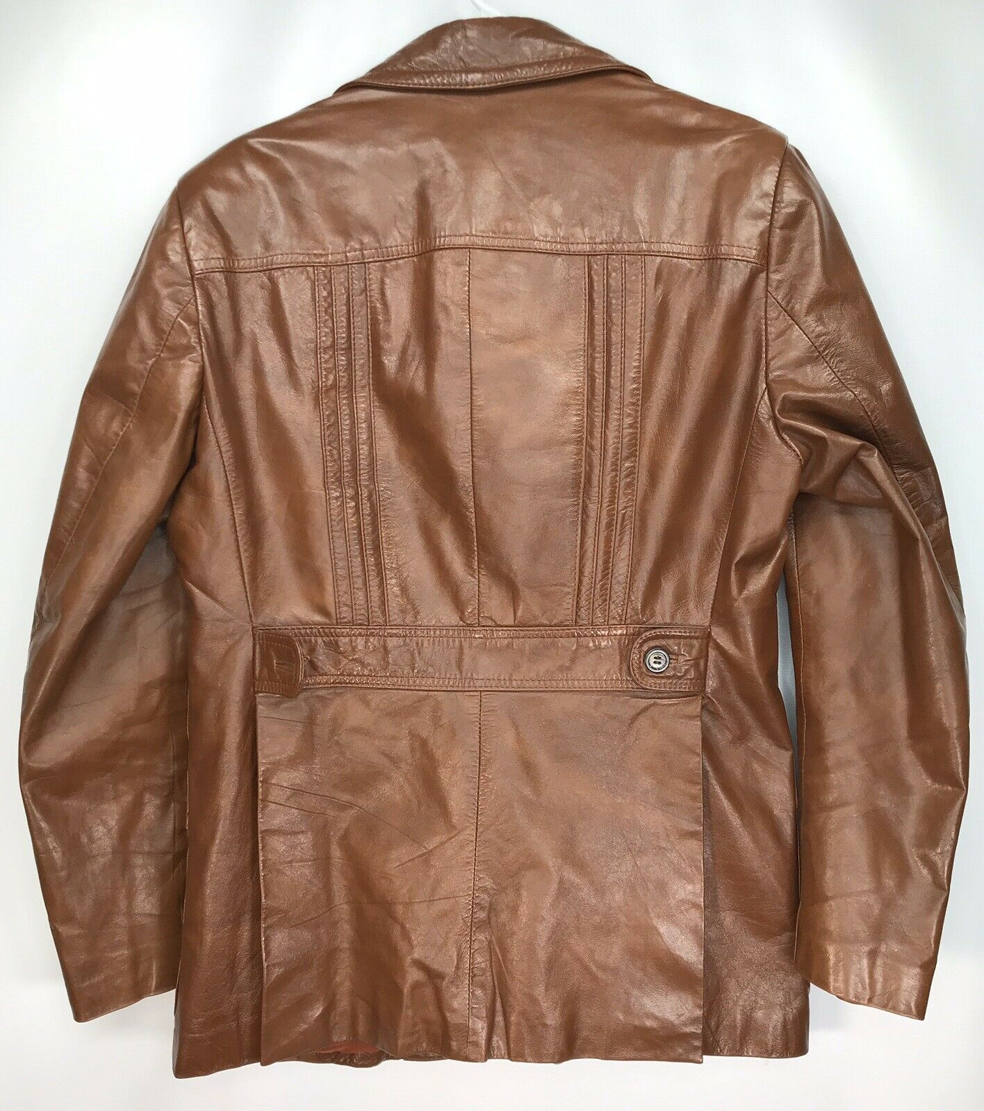 Mens 42 Vintage Lance Limited Classic 1970s Brown… - image 3