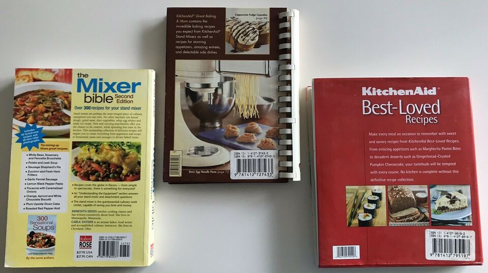 The Mixer bible, Great Baking, Best-loved recipes