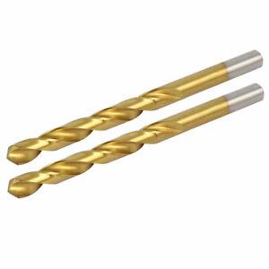 8-1mm-Drilling-Dia-Titanium-Plated-2-Flutes-Straight-Shank-Twist-Drill-Bit-2pcs