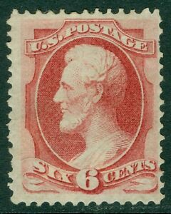 USA : 1870. Scott #148 Mint OG. True vivid color. PSAG Cert. Catalog $1,000.00.