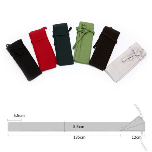 Cotton Fishing Rod Sleeve Cover Pole Protector Bag Gear Tackle Color Random pD