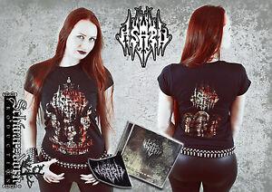 Asaru-Bundle-mit-T-Shirt-L-NEU-NEW-Black-Metal